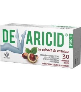 Devaricid Plus C extract castane x 30cp.film Cutie  BIOFARM