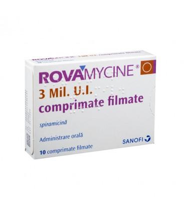 ROVAMYCINE 3 Mil. UI X 10 COMPR. FILM.