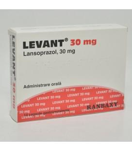 LEVANT 30 mg x 14 CAPS. GASTROREZ.