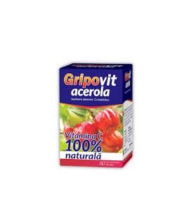 ZDROVIT Gripovit Acerola x 60 cpr. de supt cutie  ZDROVIT