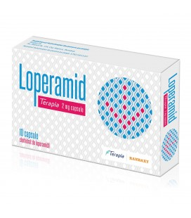 LOPERAMID TERAPIA 2 mg X 10