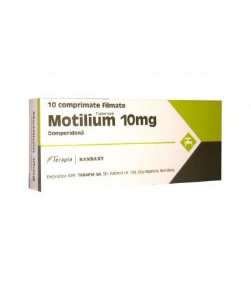 MOTILIUM 10 mg X 10 COMPR. FILM.