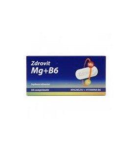 ZDROVIT Magneziu+Vitamina B6 x 50cp Cutie  ZDROVIT