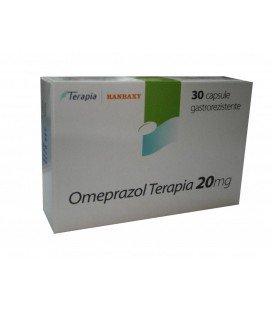 OMEPRAZOL TERAPIA 20 mg X 30 CAPS. GASTROREZ.