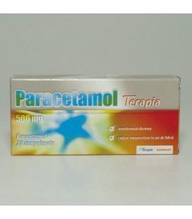 PARACETAMOL TERAPIA 500 mg X 20 COMPR.