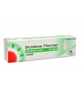 DICLOFENAC FITERMAN CREMA 10mg/g X 50G CREMA 10mg/g FITERMAN