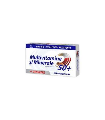 ZDROVIT Multivitamine si minerale 50+ x 56cp cutie  ZDROVIT