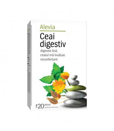 Ceai digestiv x 20 pl cutie  ALEVIA