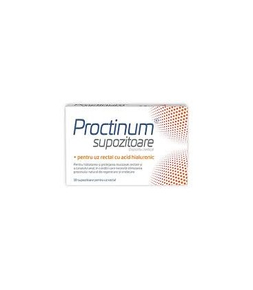 ZDROVIT Proctinum x 10 supozitoare cutie  ZDROVIT
