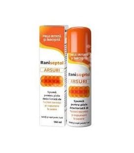 ZDROVIT Raniseptol Arsuri spuma x 150ml Cutie  ZDROVIT
