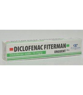 DICLOFENAC FITERMAN UNGUENT 10mg/g X 35G UNGUENT 10mg/g FITERMAN