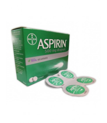 ASPIRIN 500 mg X 8 DRAJ