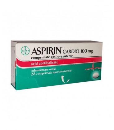 ASPIRIN CARDIO 100mg X 28 COMPR. GASTROREZ
