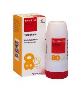 SYMBICORT TURBUHALER 80 micrograme/4,5 micrograme/inhalatie X 1 PULB. DE INHAL.