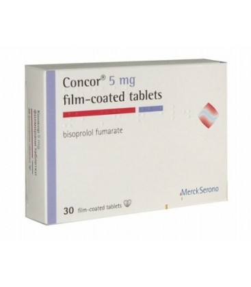 CONCOR 5 mg X 60 COMPR. FILM. 5mg CHIMIMPORT