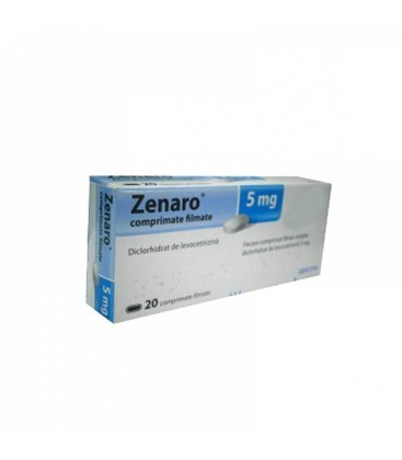 ZENARO 5 mg X 20 COMPR. FILM.