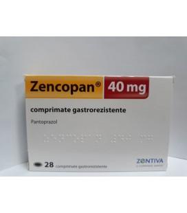 ZENCOPAN 40 mg X 28 COMPR. GASTROREZ.