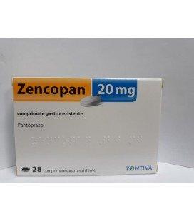 ZENCOPAN 20 mg X 28 COMPR. GASTROREZ.