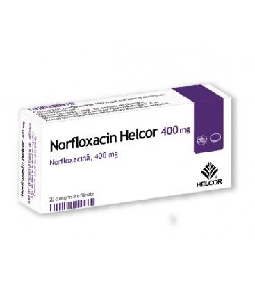 NORFLOXACIN HELCOR 400 mg X 20 COMPR.