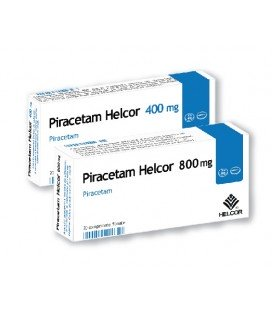 PIRACETAM  HELCOR 400mg X 20 COMPR. FILM.