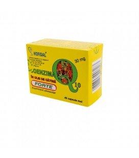 Coenzima Q10 Forte+ulei de catina 30mg x 40cps