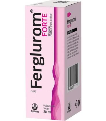 FERGLUROM FORTE 50 mg/ml X 1 PICATURI ORALE, SOL. 50mg/ml BIOFARM