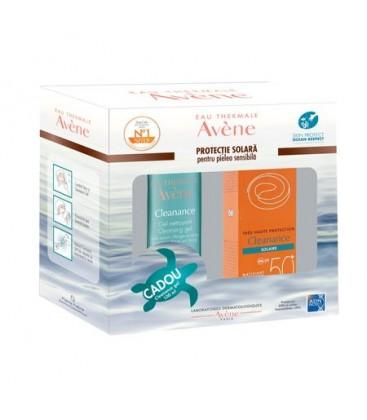 AVENE Solare Cleanance fluid SPF50+cleanance gel x 100ml  PIERRE FABRE