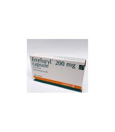 ERCEFURYL 200 mg X 28 CAPS.