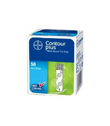 Bandelete test Bayer Contour Plus x 50 buc
