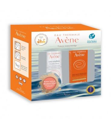 AVENE Solare crema anti-age SPF50 + lotiune micelara x 100ml PIERRE FABRE