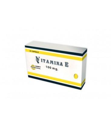 VITAMINA E 100 mg X 24 CAPS. MOI 100mg PHARCO