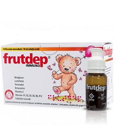 Frutdep Immuno x 10fl