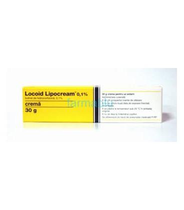 LOCOID (R) LIPOCREAM 0,1% X 1 CREMA 0,1% ASTELLAS