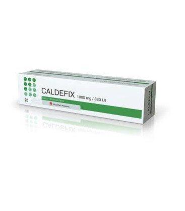 CALDEFIX  1000mg/880UI X 20 COMPR. EFF. 1000mg/880UI RECORDATI