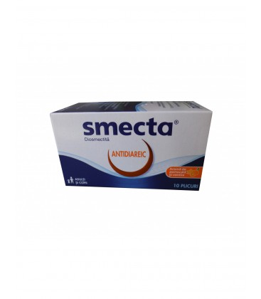SMECTA X 10 PULB. PT. SUSP. ORALA 3g/plic