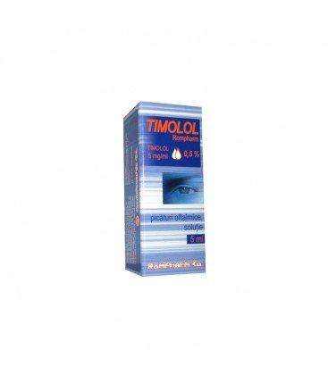 TIMOLOL ROMPHARM 0,5% X 1 PIC. OFT. SOL.