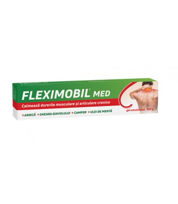Fleximobil MED gel emulsionat x 100g Cutie  FITERMAN