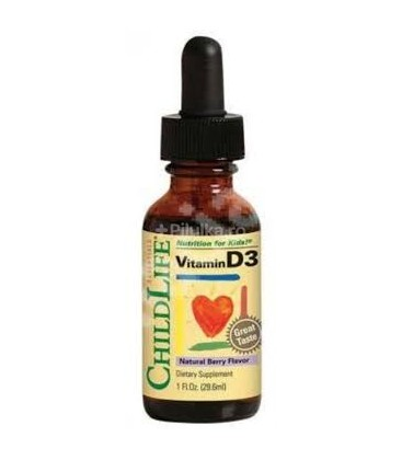 Vitamina D3 picaturi x 29.60ml   SECOM
