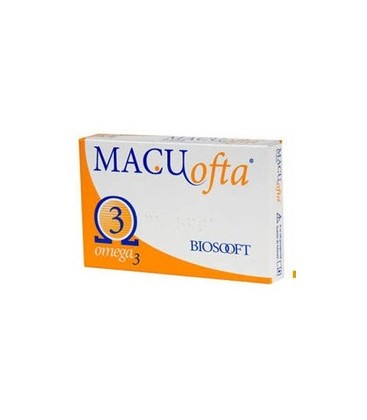 Macuofta Lutein Omega 3 x 30cps