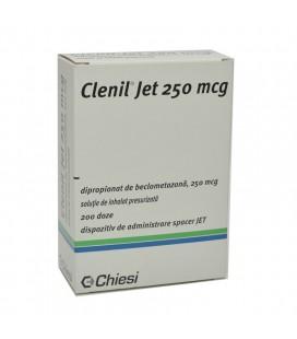 CLENIL (R) JET 250 mcg X 1 SOL. INHALAT PRESURIZATA