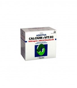 ADDITIVA Calciu 1000mg+D3 x 20pl