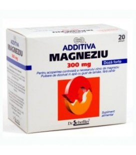 ADDITIVA Magneziu 300mg x 20pl