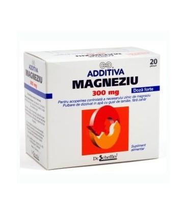 ADDITIVA Magneziu 300mg x 20pl