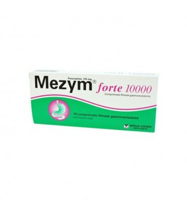 MEZYM FORTE 10000 x 10 COMPR. GASTROREZ