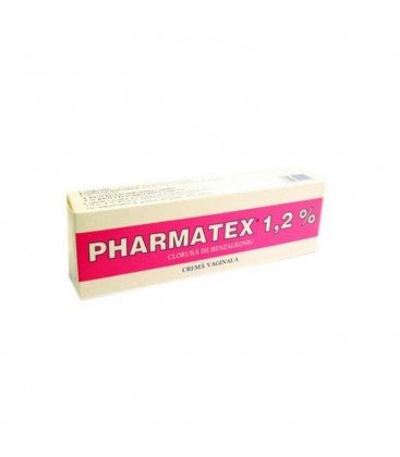 PHARMATEX (R) 1,2% X 1 CREMA VAG. 1,2% INNOTECH