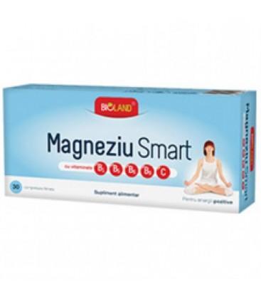 Magneziu Smart x 30cps cutie  BIOFARM