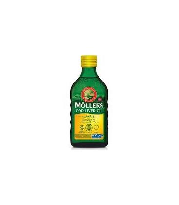 MOLLERS Cod liver oil x 250ml CUTIE  PETER MOLLER