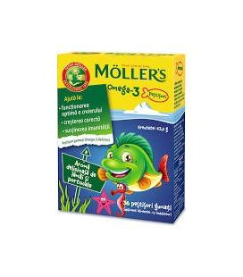 MOLLERS Omega 3 x 36 jeleuri