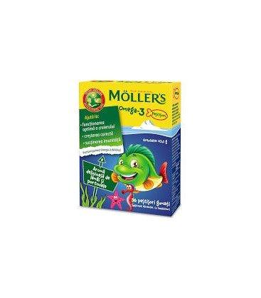 MOLLERS Omega 3 x 36 jeleuri Cutie  PETER MOLLER