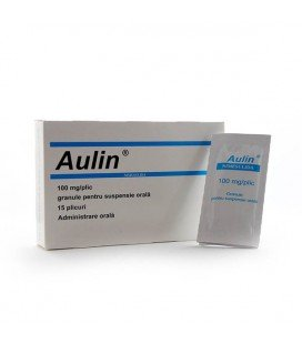 AULIN 100 mg X 15 GRAN. PT. SUSP. ORALA